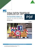 Signalisation Temporaire v1 Routes Bidirectionnelles