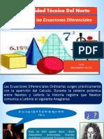 Historia Ecuaciones Diferenciales 170405131233