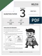 sample paper class 3