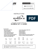 Olympus TJF-Q180V - Reprocessing Manual