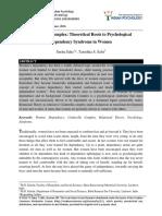 Cinderella Complex - Theoretical Roots (Study)