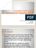 A Proposal for Crawford County EMS