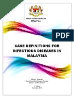 Case Definition Infectious Disease 2016