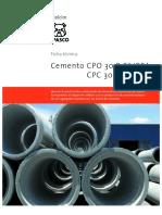 CEMENTO CPC 30