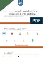 APOYO CLASE 96 Lenguaje Presentación Consonante M