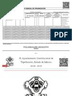 Osfer-61 Manual de Organización