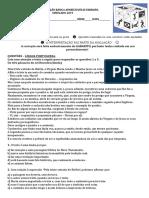 Simulado 2019 Portugues, Matemática e Ciências