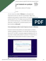 Windows Não Pode Ser Instalado Em Partição GPT_ Saiba Resolver _ Downloads _ TechTudo
