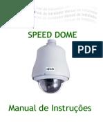Câmera Speed Dome CT 7525 7550 7525T 7535T Manual de Instruções