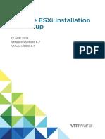 Vsphere Esxi 67 Installation Setup Guide
