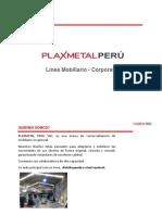 Brouchure Plaxmetal 2019-2020