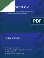 Ppt of verilog Module 1&2 vtuk