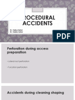 Procedural Accidents during operative treatment