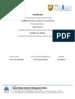 Project Report Suket Desai