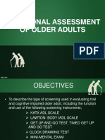 1 Functional Assessment of an Adult