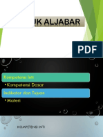 ALJABAR KELAS VII
