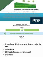 Plan Senegal Emergent Pse Et Changements Climatiques (2)
