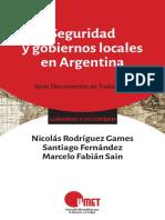 Seguridad y Gobiernos locales en argentina