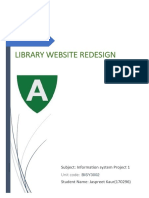 Library Management System  SRS