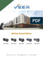 Catalogue of Medium Gear Motors From VEER Motor