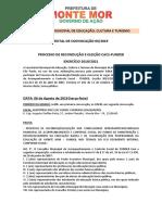 Edital de Convocao Conselho FUNDEB 2019 ELEIÇÕES SME 06-08