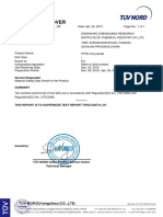 Yuanchen PTFE Thread Raw Material MSDS