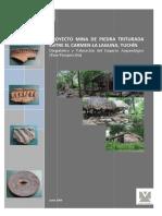 PROYECTO MINA DE PIEDRA TRITURADA ENTRE EL CARMEN- LA LAGUNA, TUCHÍN Diagnóstico y Valoración del Impacto Arqueológico (Fase Prospección)