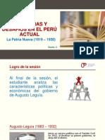 Sesión 4  PPT El Oncenio de Leguia-1.pptx