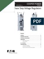 32 Step Single Phase Voltage Regulator Catalog CA225001EN