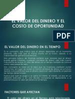 EL VALOR DEL DINERO Y EL COSTO DE OPORTUNIDAD UPLA 2019.pptx