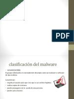 Clasificasion de Malware