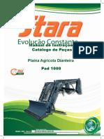 Plaina Stara Pad 1000 Serie Prata
