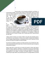 HISTORIA DEL CAFÉ Alejandro Domínguez. Sesión 5