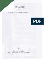 Hughes John Y Sharrock Wes - La Filosofia de La Investigacion Social