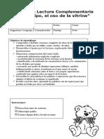 Evaluación Pipo El Oso en La Vitrina 2019