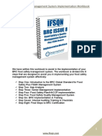 BRC Implementation Workbook Issue 8 Plus FSMA Sample