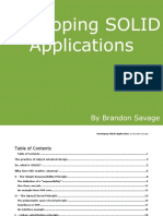Developing SOLID Applications