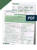 IOS Class 5 2009