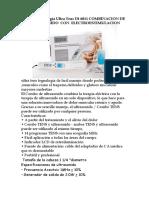 Nueva Tecnología Ultra Tens Dt 6011 COMBINACION DE ULTRASONIDO