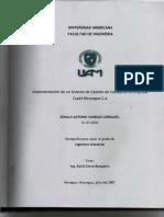 Implementación de un Sistema de Gestión de Calidad en la Empresa Cupid Nicaragua S.A.