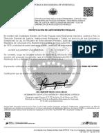 Antecedentes Penales Javier Septiembre 2019