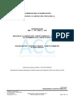 Metodo de Prueba NMX C 156 2010 ONNCCE