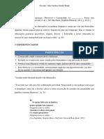 Resumo Thesaurus e Comunidade Maingueneau