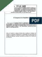 Ley 1668 Del 16 de Julio de 2013