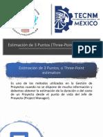 Estimación de 3 Puntos (Three-Point Estimation)