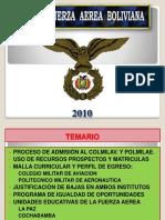 Fuerza aérea boliviana