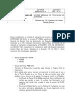 Informe Mensual n 5