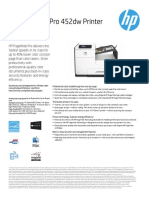 HP Pagewide Pro M452dw