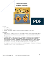Halloween Pumpkins File Folder Game