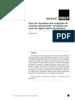 BAUER_Adriana_Usos Dos Resultados Das Avaliações de Sistemas Educacionais